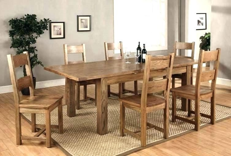 Best And Newest Dining Room 6 Chairs Round Table That Seats 6 Black Extendable Within Extendable Dining Tables And Chairs (View 1 of 20)