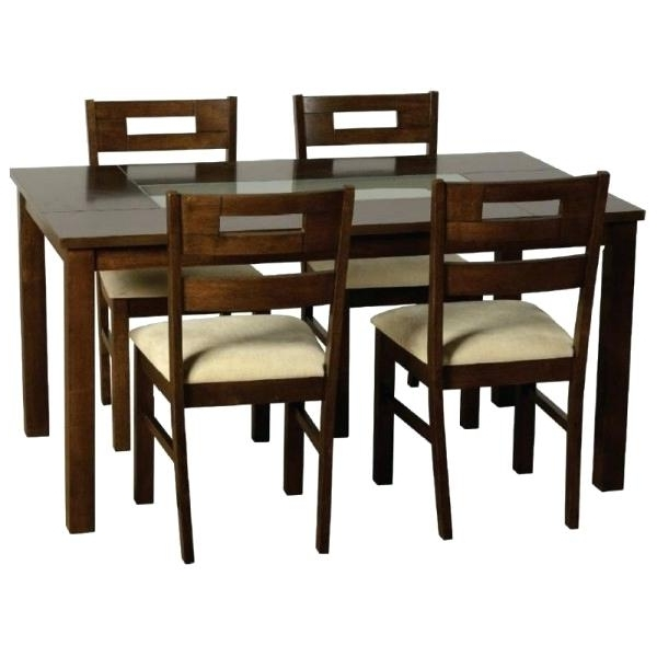 Best And Newest Dining Table 4 Chairs Sets Up To 2 Seats Room Photo For Ebay Throughout Cheap Glass Dining Tables And 4 Chairs (View 11 of 20)