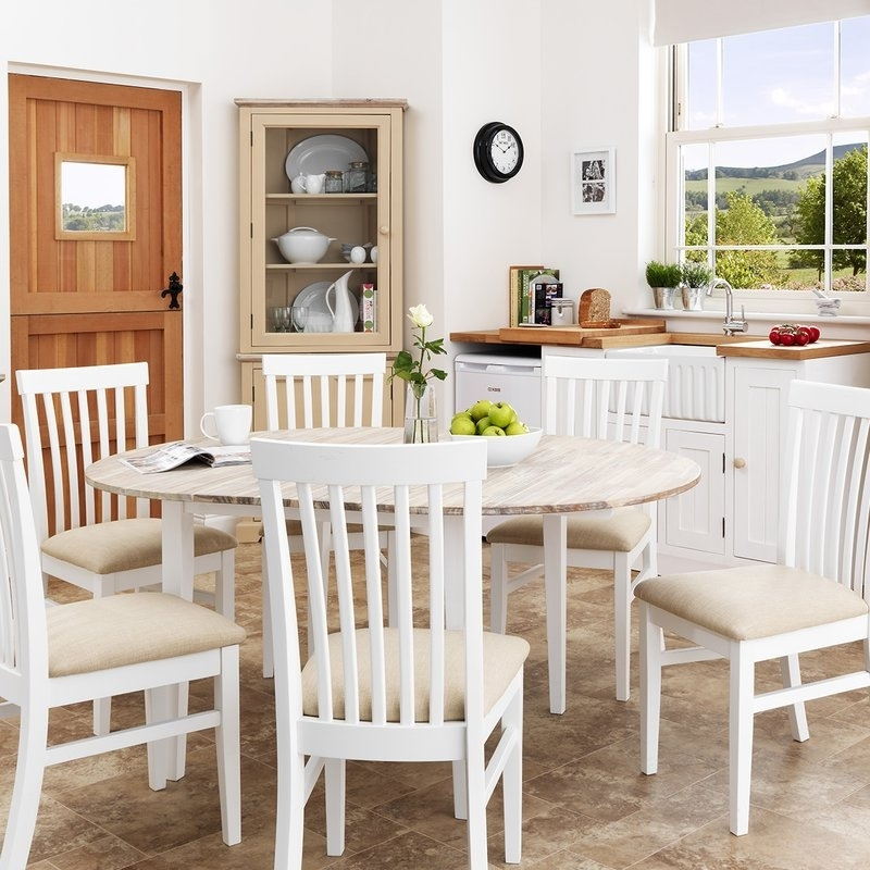 Best And Newest Extendable Dining Tables 6 Chairs Regarding Breakwater Bay Chatham Extendable Dining Table And 6 Chairs (View 4 of 20)