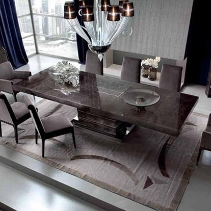 Best And Newest Extending Rectangular Dining Tables Throughout Giorgio Collection Absolute Extending Rectangular Dining Table (View 1 of 20)