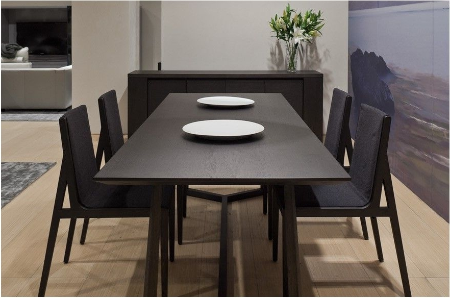Best And Newest Great Dark Wood Square Table Contemporary Teak Dining Tables – Dark Throughout Dark Dining Tables (View 4 of 20)