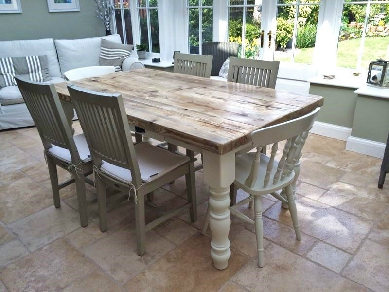 Best And Newest Incredible Ideas Shabby Chic Cream Dining Table And Chairs 89 Intended For Shabby Chic Cream Dining Tables And Chairs (View 4 of 20)