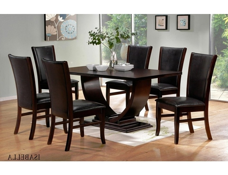 Best And Newest Isabella Modern Dining Room Set For Modern Dining Room Sets (View 4 of 20)