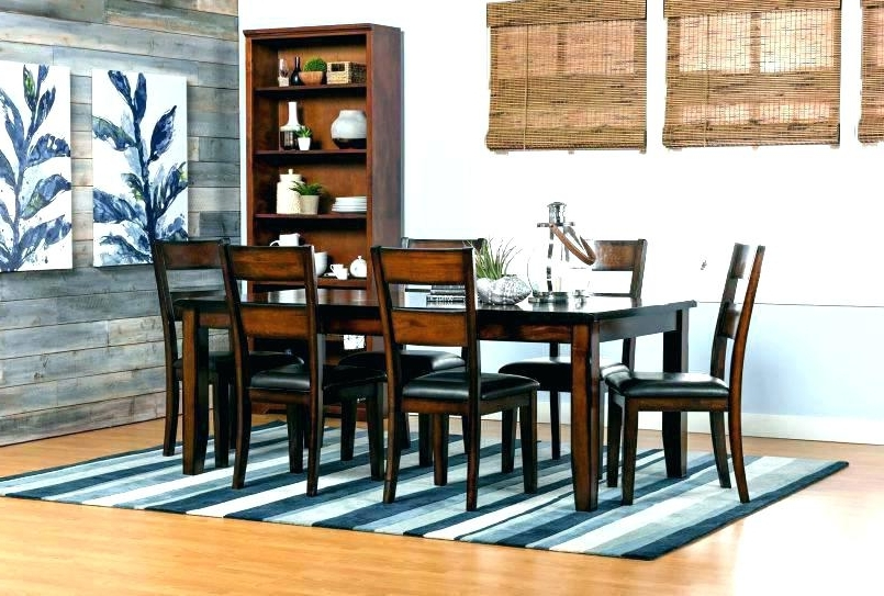 Best And Newest Marvelous Ideas Living Spaces Dining Room Tables Norwood 9 Piece Pertaining To Norwood 9 Piece Rectangular Extension Dining Sets With Uph Side Chairs (View 1 of 20)