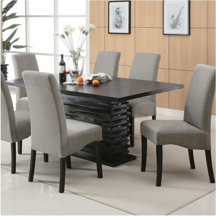 Best And Newest Nice Giorgio Italian Modern Dining Table Set – Contemporary Dining Pertaining To Contemporary Dining Sets (View 2 of 20)