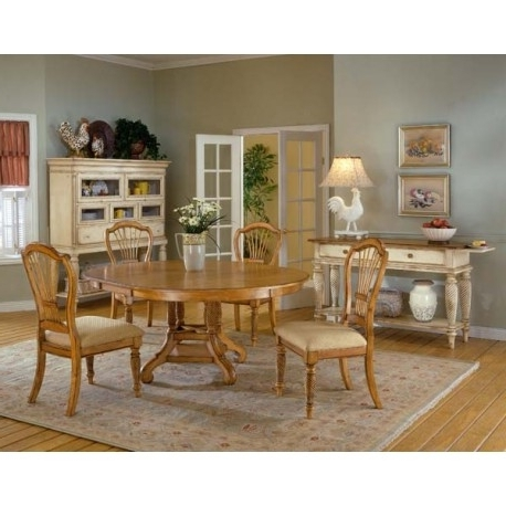 Best And Newest Oak Dining Sets Inside Wilshire 5Pc (View 2 of 20)