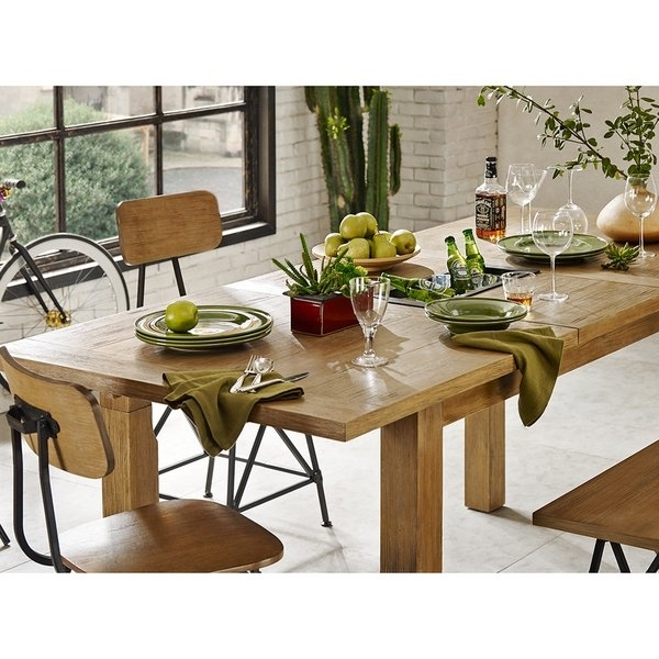 Best And Newest Shop Ink+Ivy Cooper Natural Dining/ Gathering Table – Free Shipping Throughout Cooper Dining Tables (View 1 of 20)