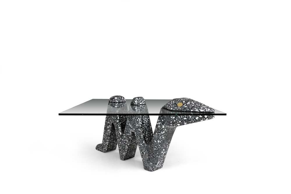 Best And Newest Terrazzo — Carly Jo Morgan With Regard To Carly Triangle Tables (View 2 of 20)