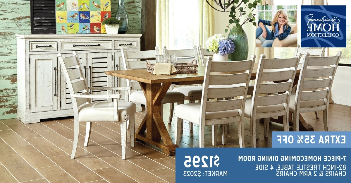 Best And Newest Trisha Yearwood 7 Piece Homecoming Dining Set (View 3 of 20)