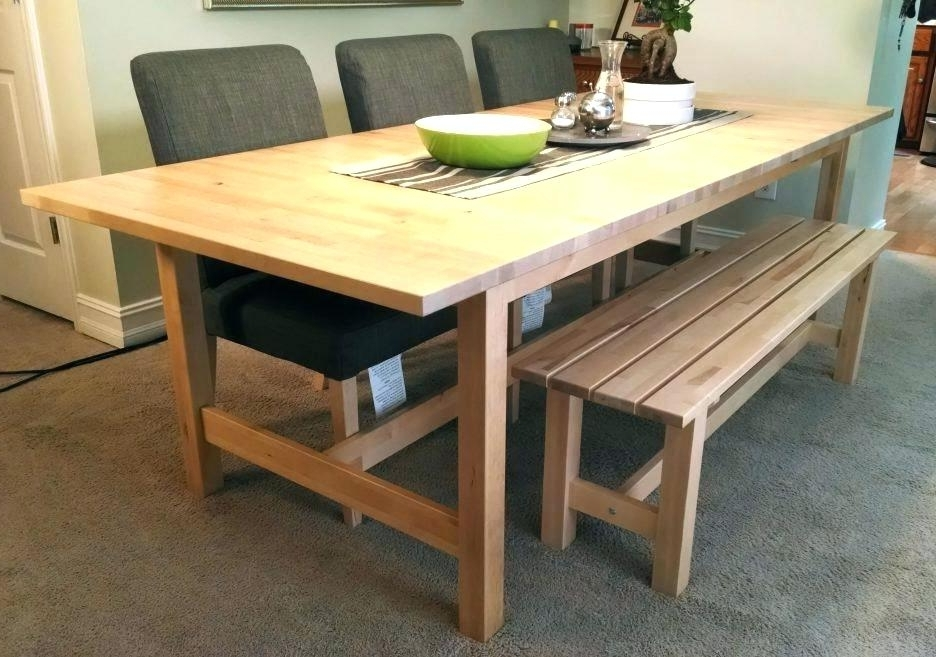Birch Dining Table Set Room Chairs Ikea And Small Images Of Within Fashionable Birch Dining Tables (View 5 of 20)