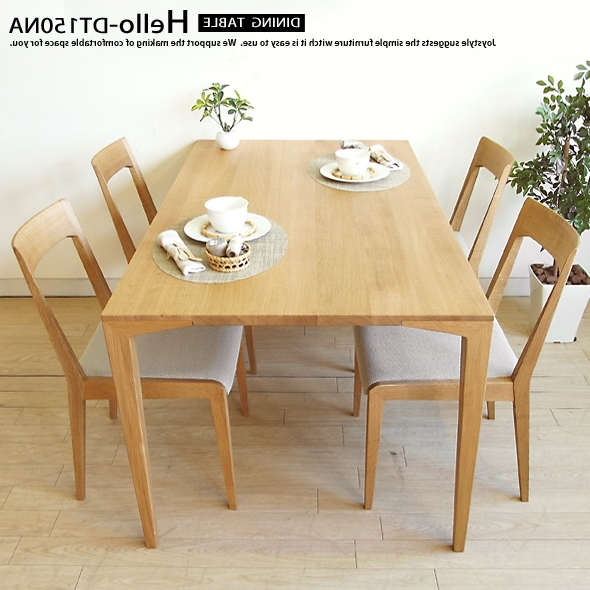 Birch Dining Tables Within Most Current Joystyle Interior: Width, Depth, Height, Materials And Paint A Birch (View 8 of 20)