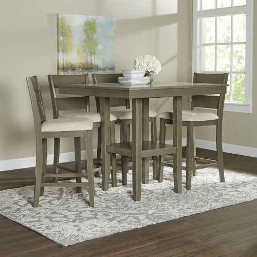 Birch Lane In Best And Newest Jameson Grey 5 Piece Counter Sets (View 3 of 20)