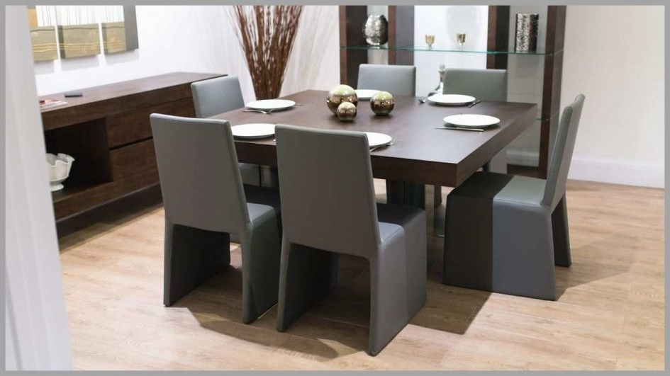 Black 8 Seater Dining Tables Inside Famous Round Dining Room Sets Extendable Glass Dining Table Dining Table (View 4 of 20)