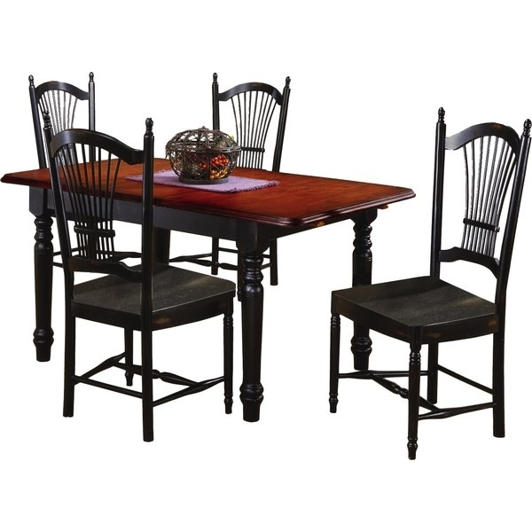 Black Butterfly Dining Table (View 3 of 20)