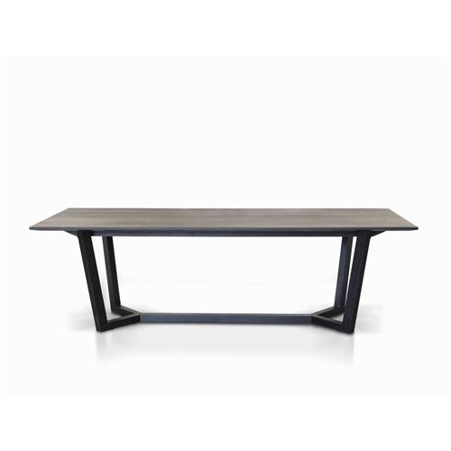 Black Dining Tables For Recent Eaton 2100 Black Dining Table (View 3 of 20)