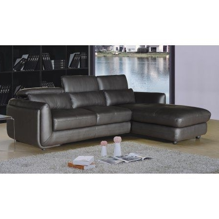 Blaine 3 Piece Sectionals Pertaining To Well Known Ron Collection Modern 2 Piece Upholstered Leather Living Room Set (View 14 of 15)