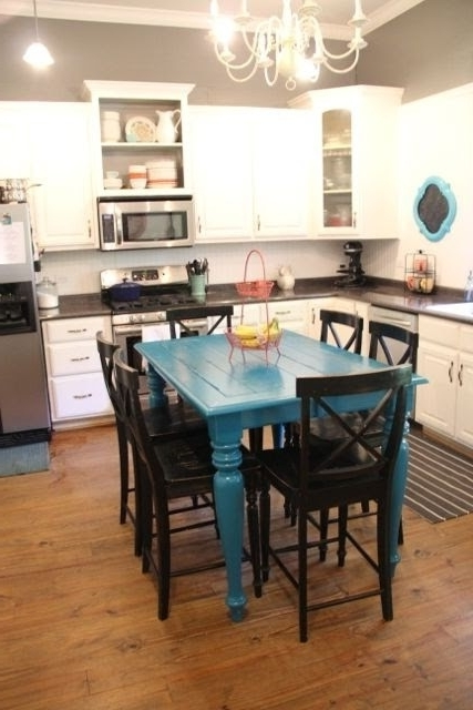 Blue Dining Room Furniture Best Awesome Dark Blue Dining Room Navy Within Trendy Blue Dining Tables (View 19 of 20)