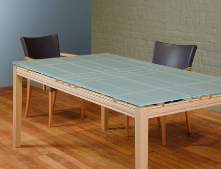 Blue Glass Dining Tables Pertaining To Current Glass Dining Table (View 6 of 20)
