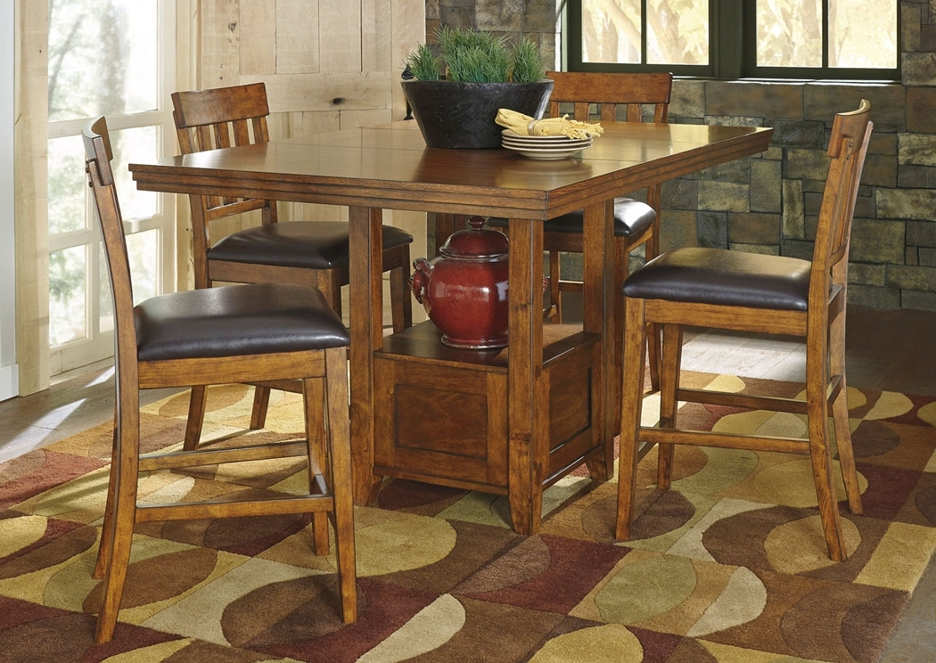 Bob Hoch's Home Furnishings – Lebanon, Pa Ralene Rectangular Counter Throughout 2018 Jaxon 5 Piece Extension Counter Sets With Fabric Stools (View 7 of 20)