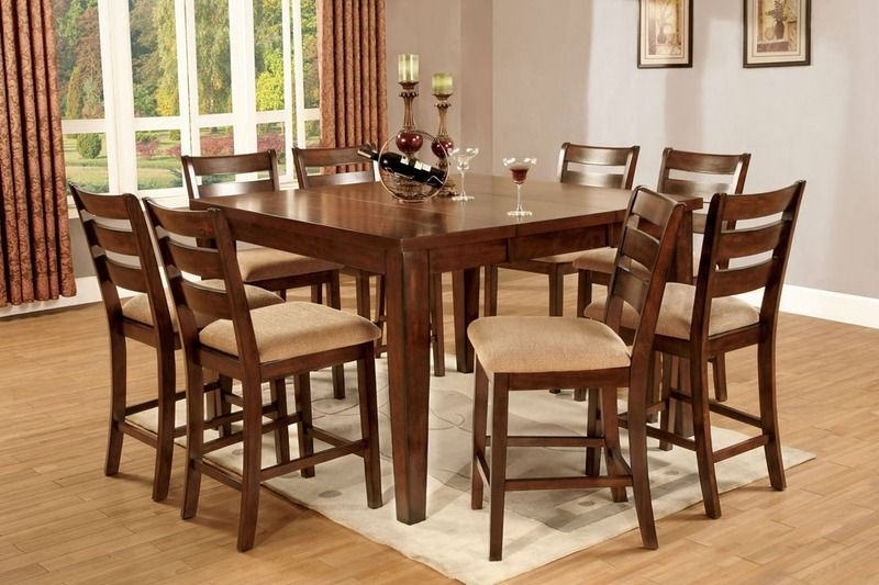 Bomboncafe Pertaining To Craftsman 5 Piece Round Dining Sets With Side Chairs (View 17 of 20)
