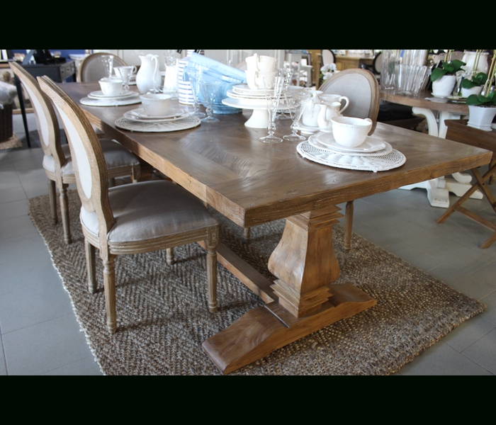 Bordeaux 200Cm Dining Table  French Villa Throughout Well Liked Bordeaux Dining Tables (View 4 of 20)