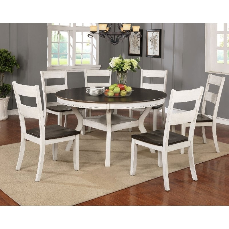 Breathtaking 7 Piece Dining Set With Bench Tips (View 5 of 20)