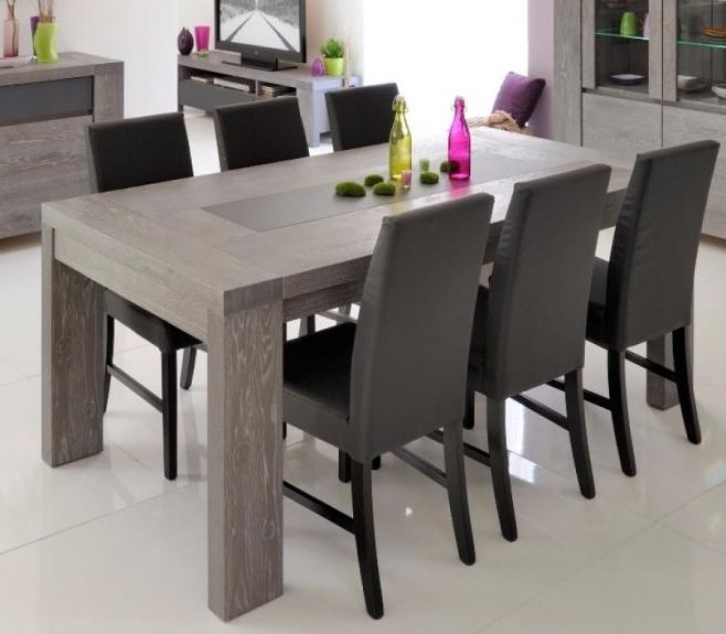 Brunswick, Contemporary Extending Dining Table In Grey Oak Veneer Within Well Known Contemporary Extending Dining Tables (View 16 of 20)