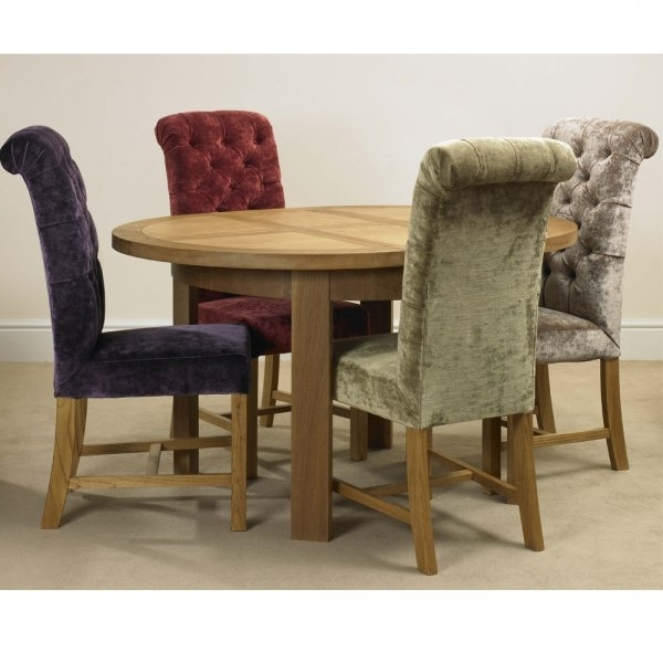 Button Back Dining Chairs Within Preferred Deluxe Button Back Dining Chair In Velvet Fabric A Wide Choice Of (View 7 of 20)