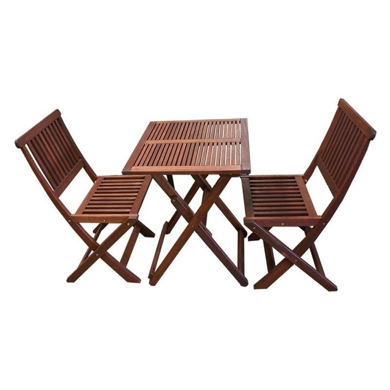 Buy 2 Seat Dining For Well Known Outdoor Dining Table And Chairs Sets (View 9 of 20)