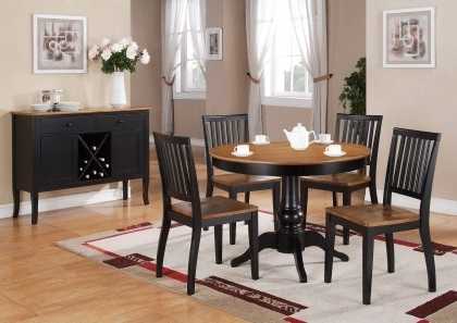 Buy Candice Round Pedestal Dining Room Setsteve Silver From Www For Favorite Candice Ii Round Dining Tables (View 16 of 20)