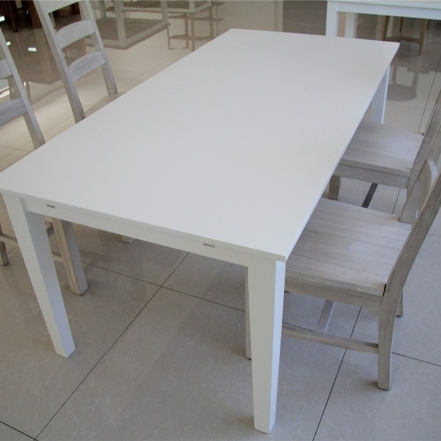 Buy Cheap China Dining Room Set White Table Products, Find China Intended For Best And Newest White Melamine Dining Tables (View 1 of 20)