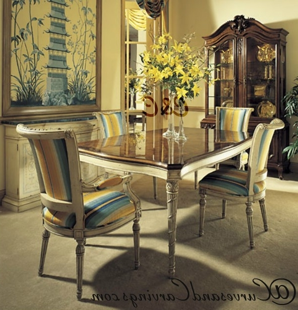 Buy Designer Dining Set 0032 Online In India (View 2 of 20)