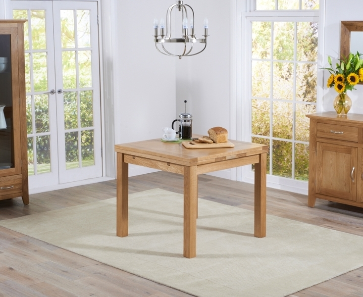 Buy Mark Harris Cambridge Solid Oak Dining Table – 90Cm Square For 2017 Cambridge Dining Tables (View 17 of 20)