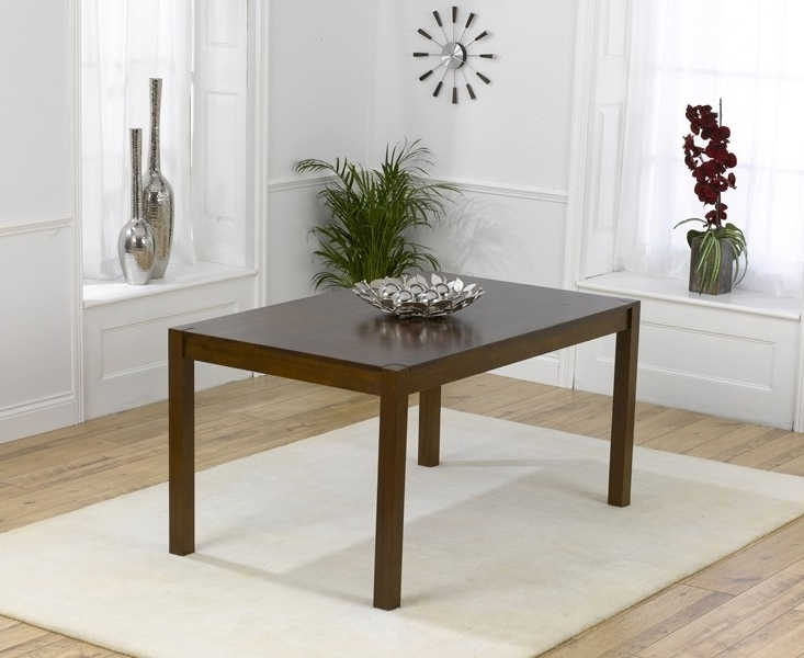 Buy Mark Harris Marbella Dark Dining Table – 150Cm Rectangular Throughout Well Known Marbella Dining Tables (View 2 of 20)