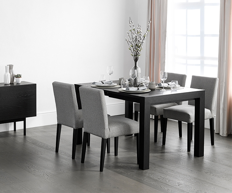 Buy Vienna Wenge Square Extending Dining Table – David Phillips With Well Known Square Extendable Dining Tables And Chairs (View 19 of 20)