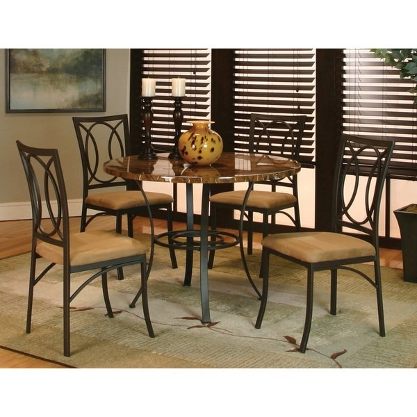 Caden 7 Piece Dining Sets With Upholstered Side Chair In Trendy Shop Art Van Kaden 5 Piece Dining Set – Free Shipping Today (View 1 of 20)