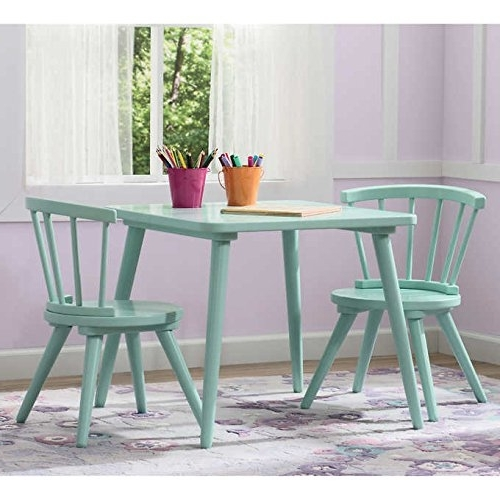 Caden Rectangle Dining Tables Inside Widely Used Amazon: Caden Strong And Sturdy Easy To Assemble Activity Table (View 4 of 20)