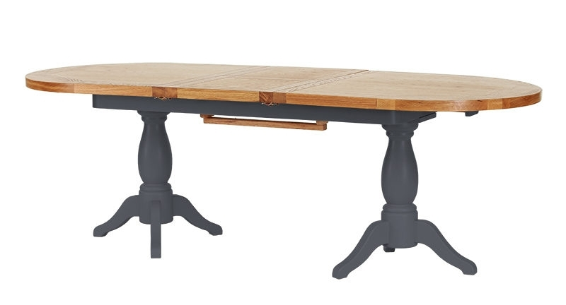 Caira Extension Pedestal Dining Tables Throughout Well Known Canterbury Twin Pedestal Extension Dining Table 1.9 – (View 15 of 20)