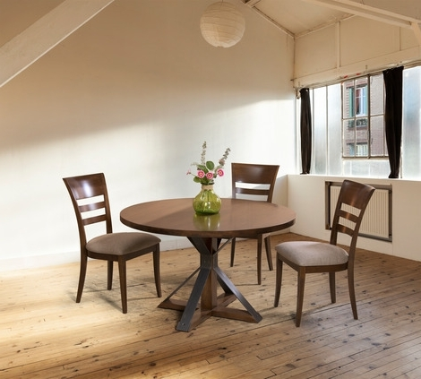 Cambridge Dining Tables Pertaining To Well Liked Saloom Furniture Cambridge Round Dining Table – 2Modern (View 4 of 20)