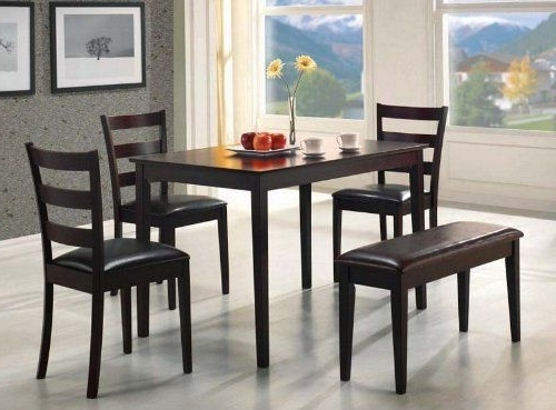 Candice Ii 5 Piece Round Dining Sets With Slat Back Side Chairs Inside Famous 11 Best Medium Dining Tables Images On Pinterest (View 3 of 20)