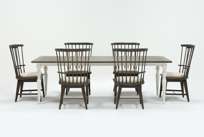 Featured Photo of Candice Ii 7 Piece Extension Rectangle Dining Sets