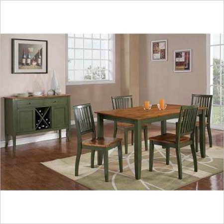 Candice Ii 7 Piece Extension Rectangle Dining Sets In Fashionable Cheap Green Dining Room Table, Find Green Dining Room Table Deals On (View 6 of 20)