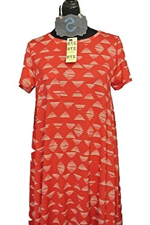 Carly 3 Piece Triangle Dining Sets Inside Most Popular Lularoe Carly Dress Red W/triangle Pattern Small At Amazon Women's (View 3 of 20)