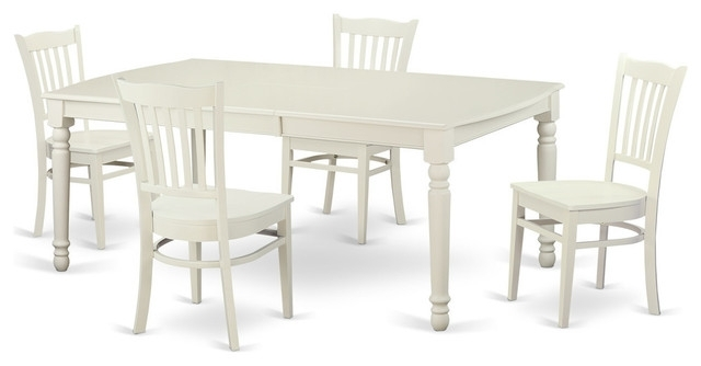 Carly Rectangle Dining Tables Inside Most Recent Alexa Rectangular Dining Table Set, White – Traditional – Dining (View 6 of 20)