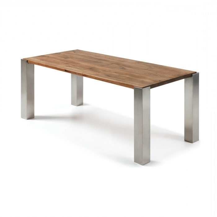 Carly Rectangle Dining Tables Intended For Most Up To Date Carly Table 220X100 Cm – Kave Home (View 7 of 20)