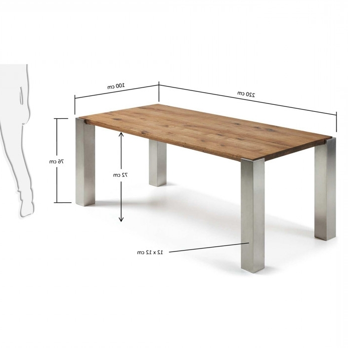 Carly Table 220X100 Cm – Kave Home Pertaining To Newest Carly Rectangle Dining Tables (View 9 of 20)