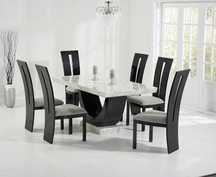 Casalivin St Veep Black Or Brown High Gloss Dining Chair Regarding 2017 Black Gloss Dining Furniture (View 17 of 20)