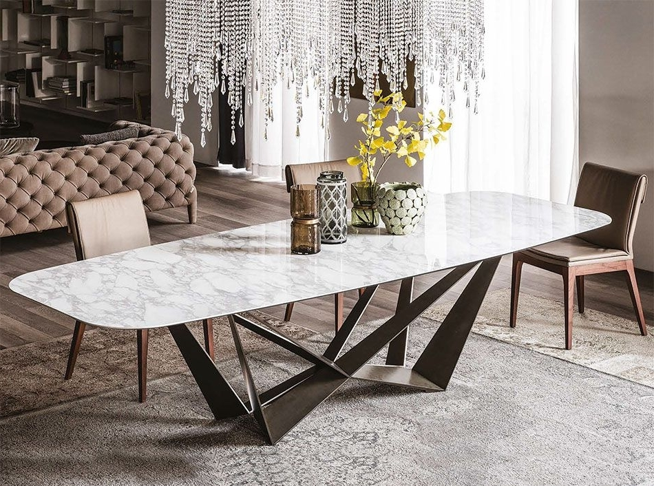 Cattelan Italia Skorpio Keramik Italian Dining Table – $4, (View 7 of 20)