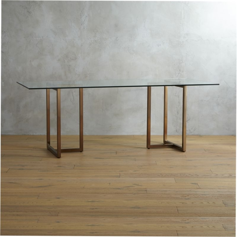 Cb2 Inside Widely Used Sleek Dining Tables (View 10 of 20)