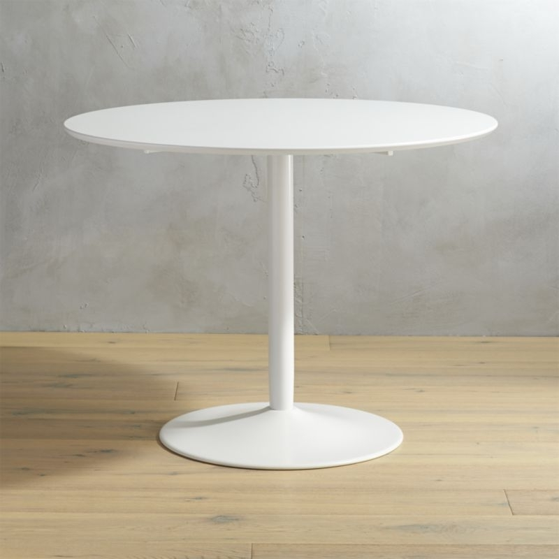 Cb2 Intended For Small Round White Dining Tables (View 2 of 20)